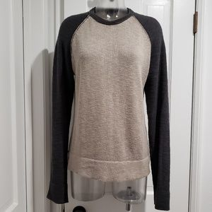 James Perse Raglan Linen Sweater 1